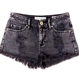 Pacsun Bullhead High Rise Short Shorts Size 1